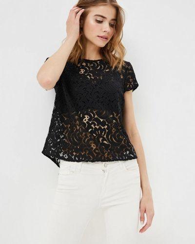 Блузка кружевная черная Q/s Designed By