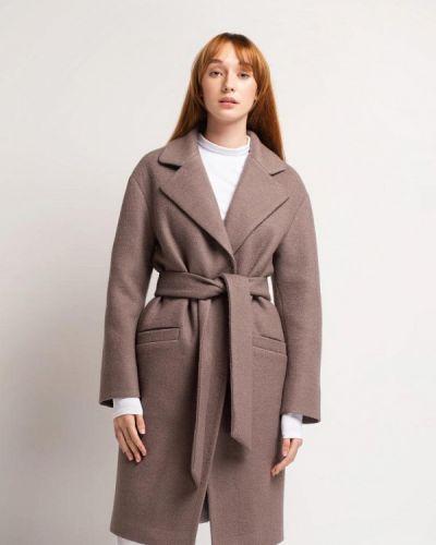 Фиолетовое пальто с капюшоном Urban Streets