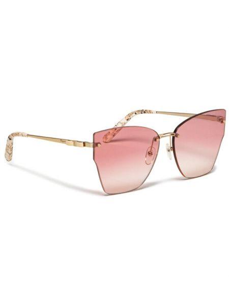 Różowe okulary Salvatore Ferragamo