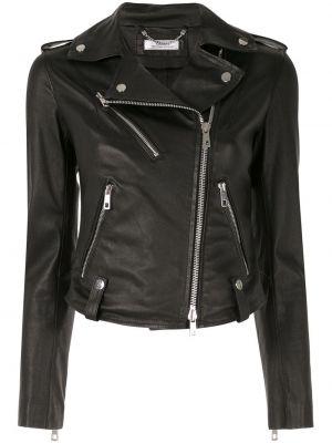 Куртка черная байкерская Desa 1972