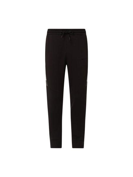 Czarne spodnie bawełniane Nicce