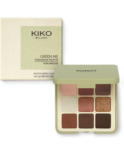 Тени для век зеленый матовые Kiko Milano