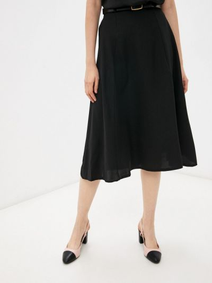 Черная зимняя юбка Miss Gabby