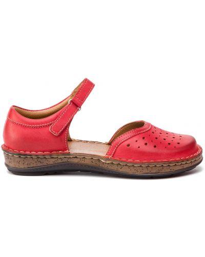 Туфли - красные Waldi