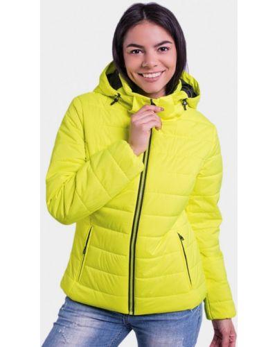 Желтая куртка осенняя Avecs