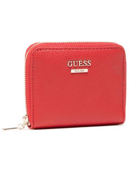 Czerwony portfel Guess