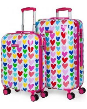 Różowa walizka Agatha Ruiz De La Prada