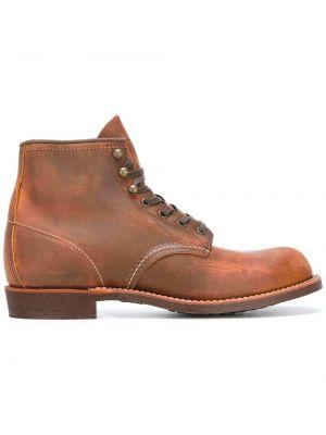 Кожаные туфли на шнуровке Red Wing Shoes