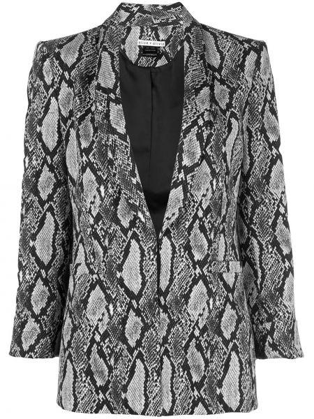 Кожаная куртка с карманами Alice+olivia