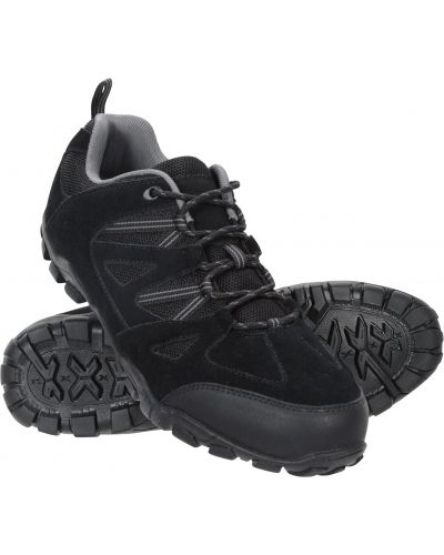 Półbuty trekkingowe - czarne Mountain Warehouse