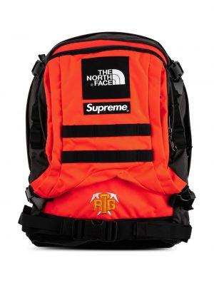 Czarny plecak z nylonu Supreme