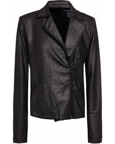 Трикотажная черная куртка с карманами Majestic Filatures