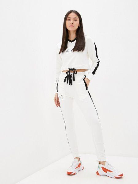 Костюм белый спортивный Fresh Cotton