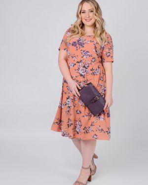 Платье в горошек на пуговицах Jetty-plus