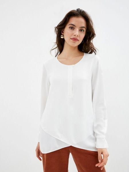 Блузка с длинным рукавом белая осенняя Gerry Weber