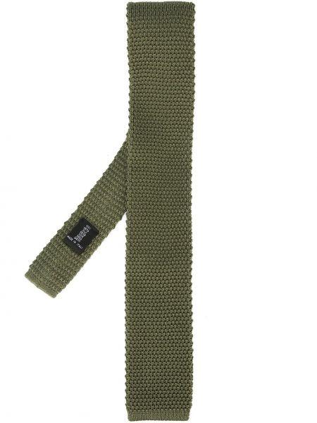Trykotowy jedwab krawat Fashion Clinic Timeless