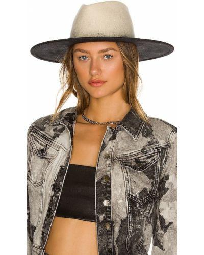 Шерстяные шляпа - белые Eugenia Kim