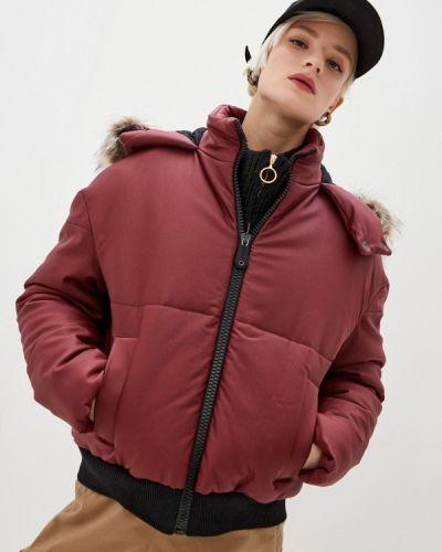 Утепленная красная куртка Bikkembergs