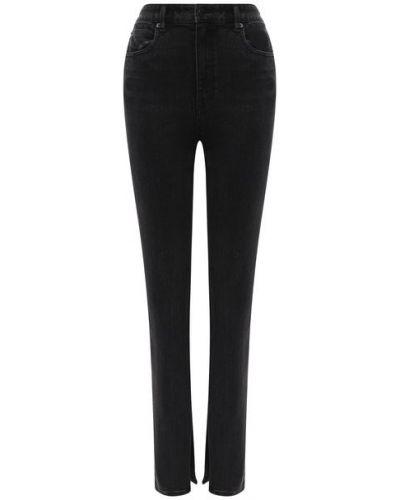 Хлопковые серые джинсы Denim X Alexander Wang