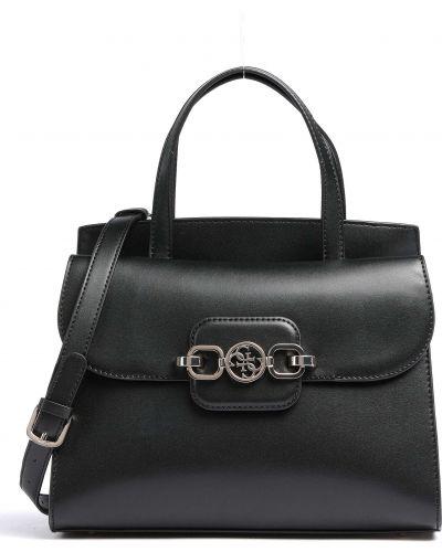 Городская черная маленькая сумка на молнии Guess