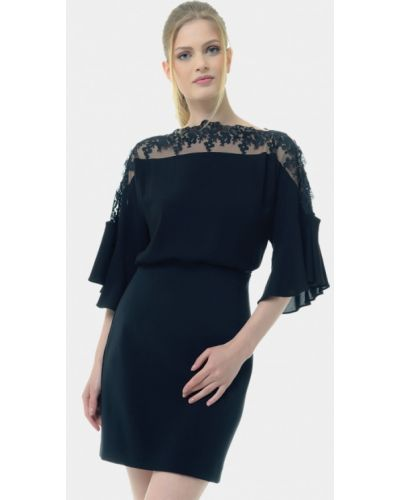 Черное боди блуза Arefeva