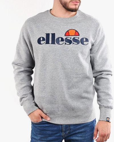 Хлопковая серая кофта Ellesse