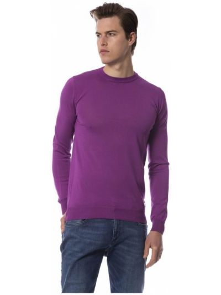Fioletowy sweter Trussardi