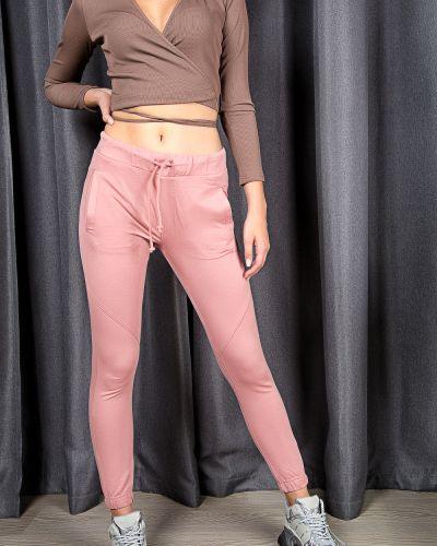 Розовые зимние брюки Samo