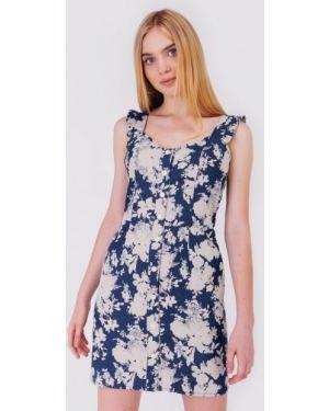 Синее платье Bessa