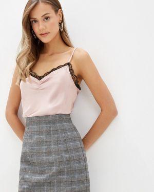 Топ розовый пижамный Miss Selfridge