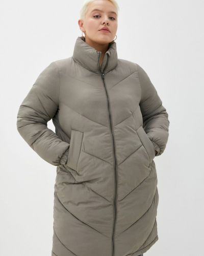 Куртка утепленная хаки Zizzi
