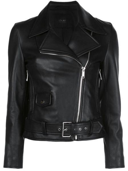 Куртка черная байкерская Lth Jkt