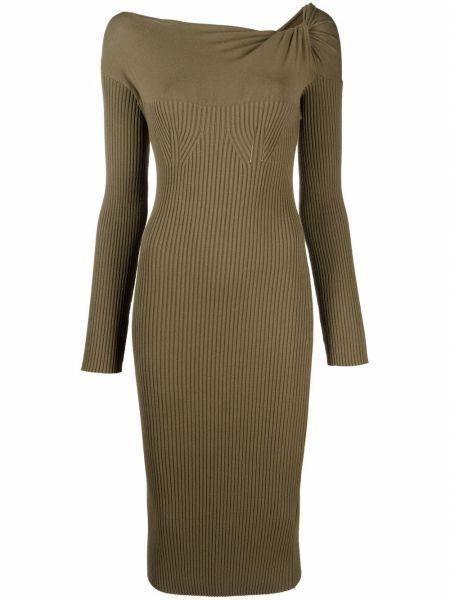 Платье макси длинное - зеленое Blumarine