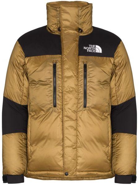 Czarna długa kurtka z nylonu z długimi rękawami The North Face Black Series