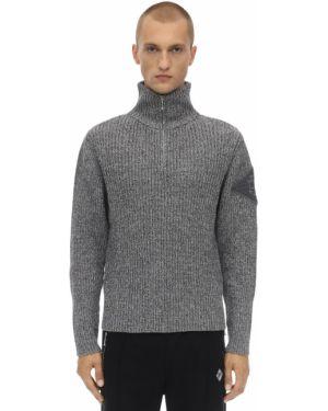 Prążkowany sweter wełniany Gr Uniforma X Diesel Red Tag