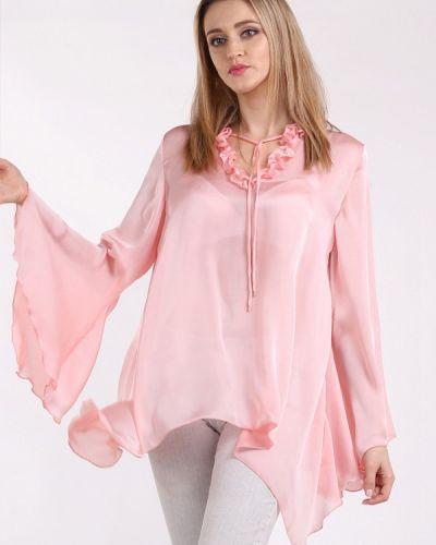 Блузка розовая весенний Panove