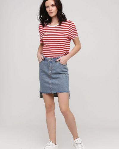 Облегающая джинсовая юбка свободного кроя Cheap Monday