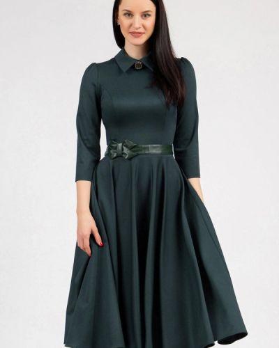 Платье - зеленое Grey Cat