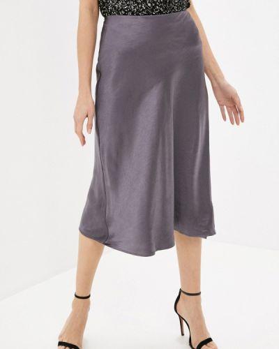 Серая юбка свободного кроя Zarina