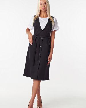 Вечернее платье деловое футболка Victoria Filippova