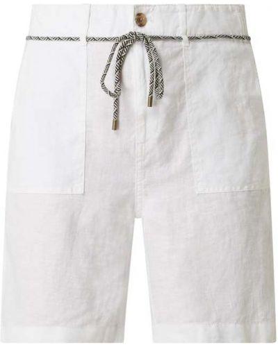 Białe bermudy Esprit