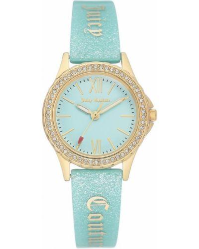 Zegarek mechaniczny - niebieski Juicy Couture