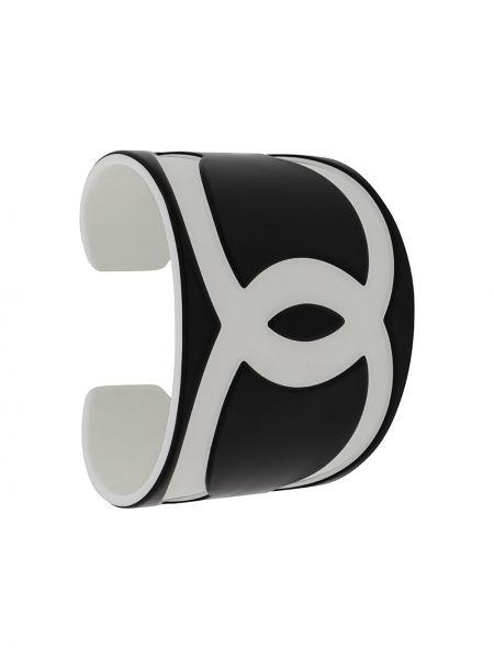 Bransoletka mankiet biały Chanel Pre-owned