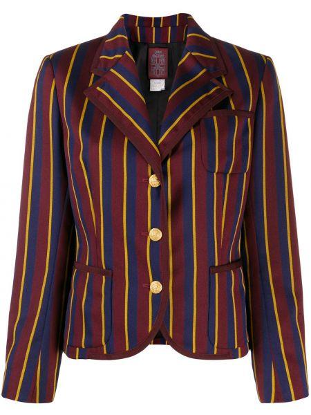 Удлиненный пиджак на пуговицах John Galliano Pre-owned