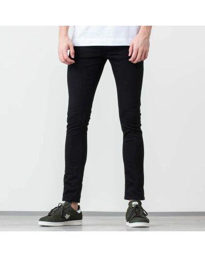 Джинсы-скинни джоггеры черные Nudie Jeans
