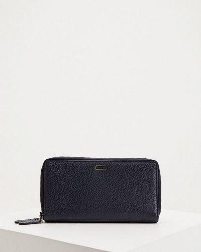 Кожаный синий кошелек Cerruti 1881