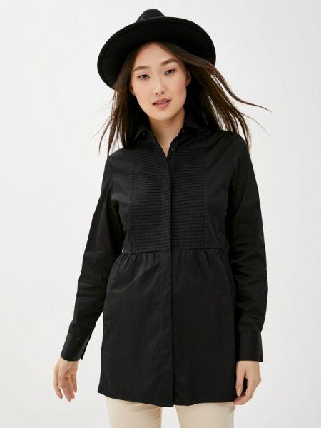 Блузка с длинным рукавом черная весенний Naumi