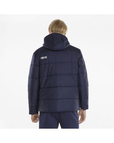 Куртка с капюшоном - синяя Puma