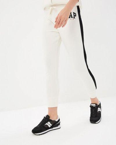 Белые спортивные брюки Gap