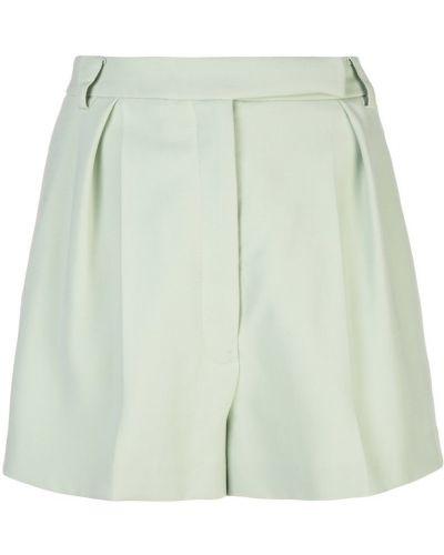Однобортные шорты с карманами на пуговицах Carolina Herrera